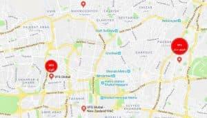 مراکز انگشتنگاری (VFS) سفارتها در تهران