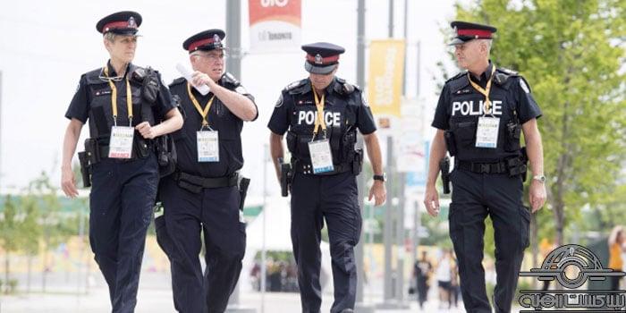 افسر پلیس در کانادا